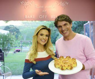 """""""Bake Off Brasil"""" traz 'Bolo de Cristais' e aula de pães com Olivier neste sábad"""
