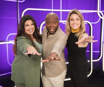 Fernanda Gentil, Érico Brás e Fabiana Karla apresentam novo programa à imprensa