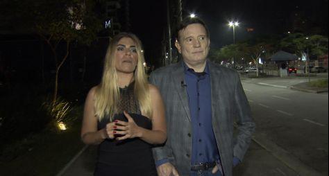 Roberto Cabrini reencontra Bruna Surfistinha após dez anos para o Conexão Repórt