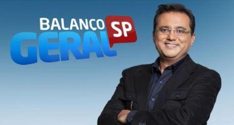 Geraldo Luís estreia no Balanço Geral SP nesta segunda (30) com novidades