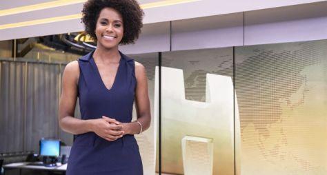 """Maria Júlia Coutinho estreia como apresentadora titular do """"Jornal Hoje"""""""