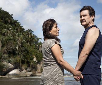 Éramos Seis: Família Lemos vai à praia