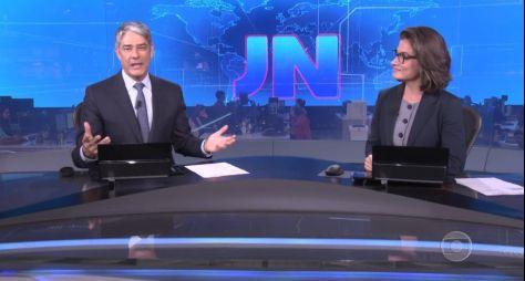 Novelas da sete e das nove impulsionam a média de público do Jornal Nacional