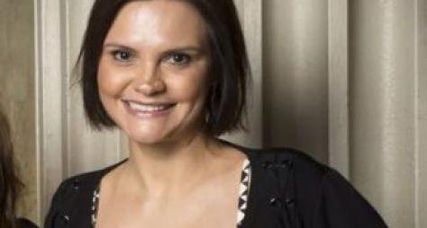 Alessandra Poggi já escreve os capítulos de uma novela das seis