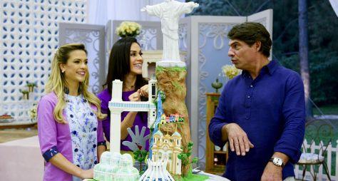 "Bake Off Brasil exalta belezas do país na prova ""Paisagens do Brasil"""