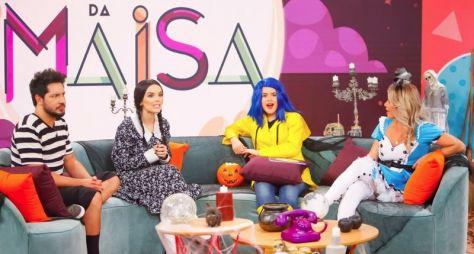 Em clima de Halloween, Programa da Maisa recebe Karina Bacchi e Thaeme e Thiago