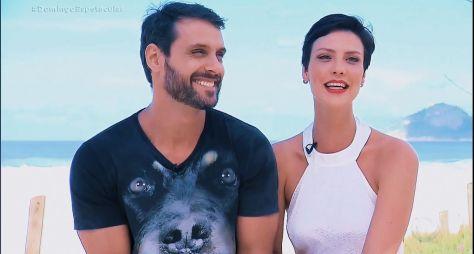 """Camila Rodrigues e Felipe Cunha gravam cena final de """"Topíssima"""" em Salvador"""