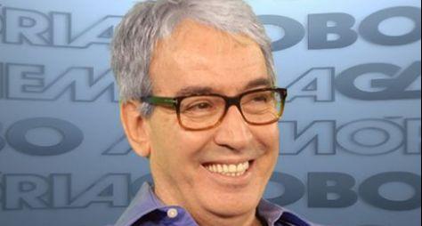 """Alcides Nogueiratrabalha na adaptação do livro """"A Intrusa"""""""