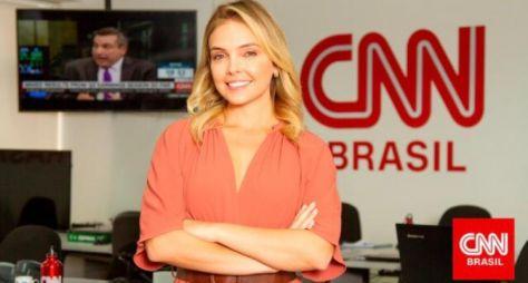 Taís Lopes deixa afiliada da Globo e assina com a CNN Brasil