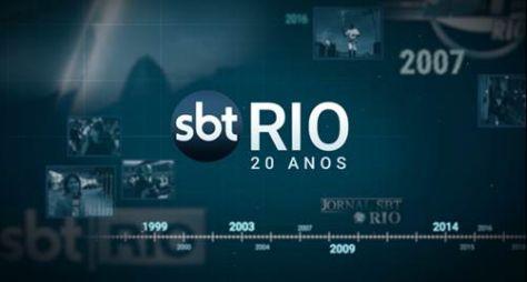 Jornal SBT Rio comemora 20 anos com matérias especiais