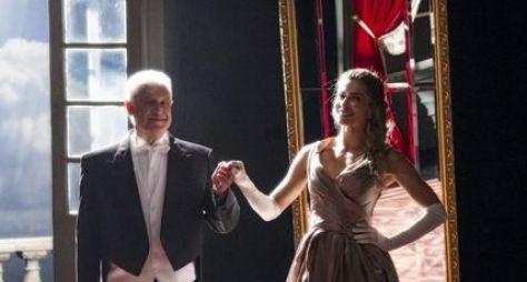 """Bom Sucesso: Paloma e Alberto entram no universo do livro """"Senhora"""""""