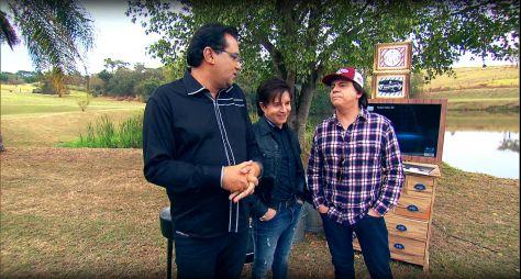 Domingo Show: Dupla Chitãozinho & Xororó relembra fatos do passado