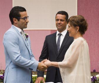 A Dona do Pedaço: Beatriz e Zé Hélio se casam