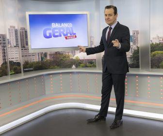 Celso Zucatelli estreia segunda-feira, 18/11, no Balanço Geral Manhã