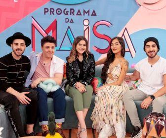 Maisa recebe os irmãos Melim em seu programa neste sábado (16)