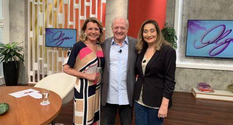 Olga Bongiovanni e Sonia Abrão relembram momentos da história da RedeTV!