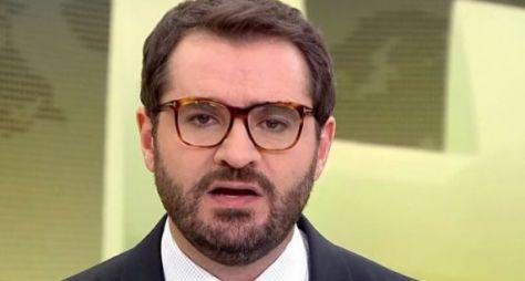 Jornalista da GloboNews é convidado para apresentar o Hora Um