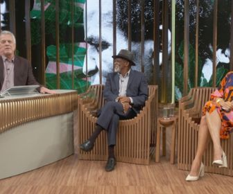 De pai para filha: Antonio e Camila Pitanga conversam com Pedro Bial