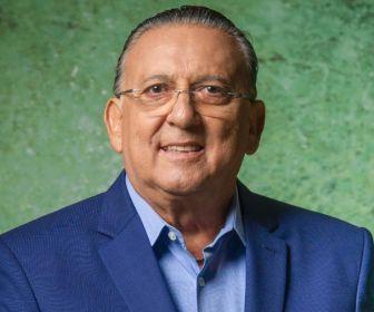 Após princípio de infarto, Galvão Bueno está consciente e bem disposto