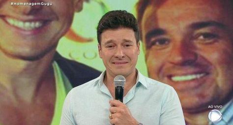 """""""Como está audiência"""", pergunta Rodrigo Faro durante homenagem a Gugu"""