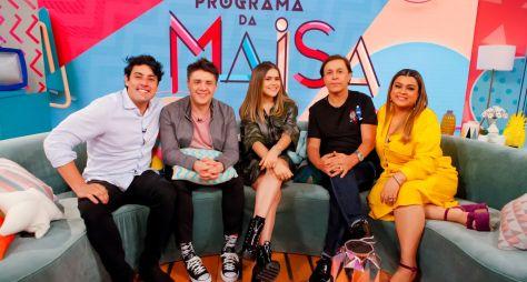 Programa da Maisa recebe Tom Cavalcante, Bruno de Lucca e Preta Gil