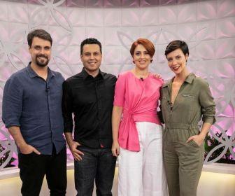 Camila Rodrigues e Felipe Cunha participam do The Love School deste sábado