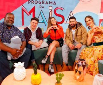 Maisa recebe Chris Flores, Péricles e Dilsinho em seu programa neste sábado (14)