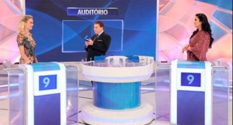 Thaís Pacholek e Helen Ganzarolli participam do Programa Silvio Santos