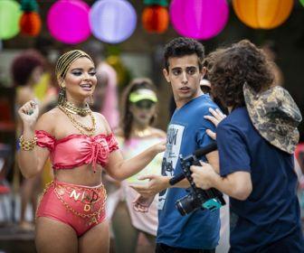 Toda Forma de Amar: Nanda grava clipe 'ostentação'