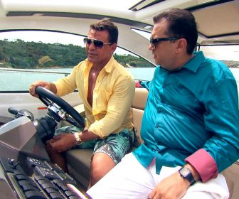 Domingo Show: Geraldo Luis conhece uma das mansões do cantor Eduardo Costa
