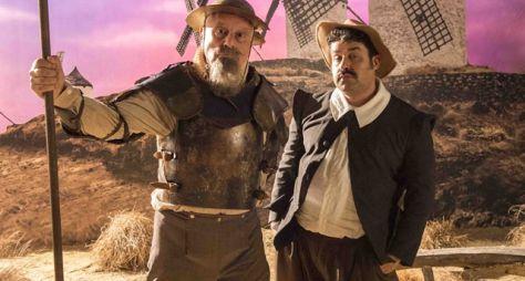 Bom Sucesso: Antonio Fagundes vira Dom Quixote em sonho