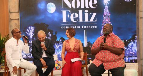 """""""Noite Feliz"""": Catia Fonseca apresenta programa especial de Natal"""