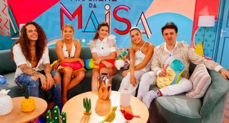 Giovanna Lancellotti, Luisa Sonza e Vitão são os convidados do Programa da Maisa