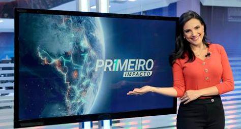 """Márcia Dantas passa a integrar time de apresentadores do """"Primeiro Impacto"""""""