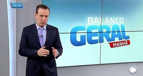Balanço Geral Manhã mantém baixa audiência no comando de Celso Zucatelli