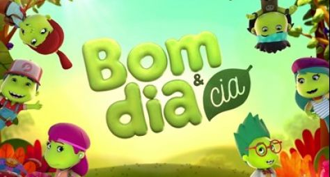 Com novos desenhos, Bom Dia & Cia bate recorde e vence Record e TV Globo