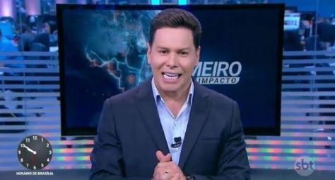 """Novidades da Record TV não alteram a audiência do """"Primeiro Impacto"""", do SBT"""