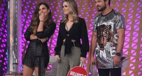 Wanessa Camargo e Thaeme & Thiago encaram desafio musical no Hora do Faro