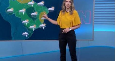 """Globo trabalhará com revezamento de """"moça do tempo"""" em seus telejornais"""
