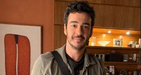 """Marcos Veras caracterizado para a série """"Filhas de Eva"""""""