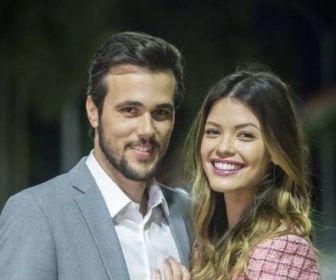 """Bruno FerrarieVitória Strada comemoram parceria em """"Salve-se Quem Puder"""""""