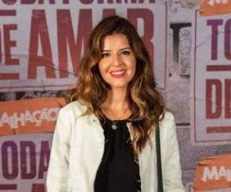 Mariana Santos e Marcelo Serrado devem estrelar uma série do GloboPlay