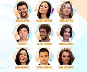 Conheça os participantes da vigésima edição do Big Brother Brasil