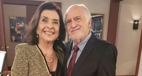 """Betty Faria e Ary Fontoura gravam participação especial em """"Salve-se Quem Puder"""""""