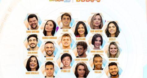TV Globo confirma que participantes do BBB20 serão divididos por um muro