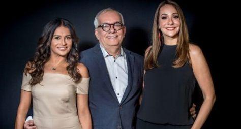 TV Globo mantém o trio de apresentadores do Oscar