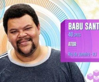 Escalado para o BBB20, Babu Santana precisou ser substituído em série