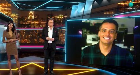 Retorno de Léo Dias não altera audiência do TV Fama