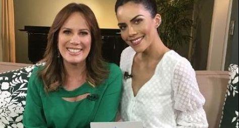"""Daniela Albuquerque recebe Regina Volpato no """"Sensacional"""""""