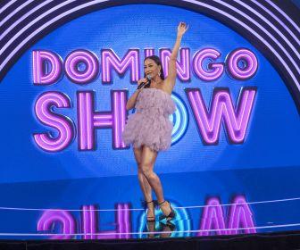 Domingo Show, com Sabrina Sato, irá ao ar gravado